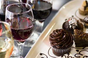 hocolate, Wine & Dine featuring Chocolate Bliss